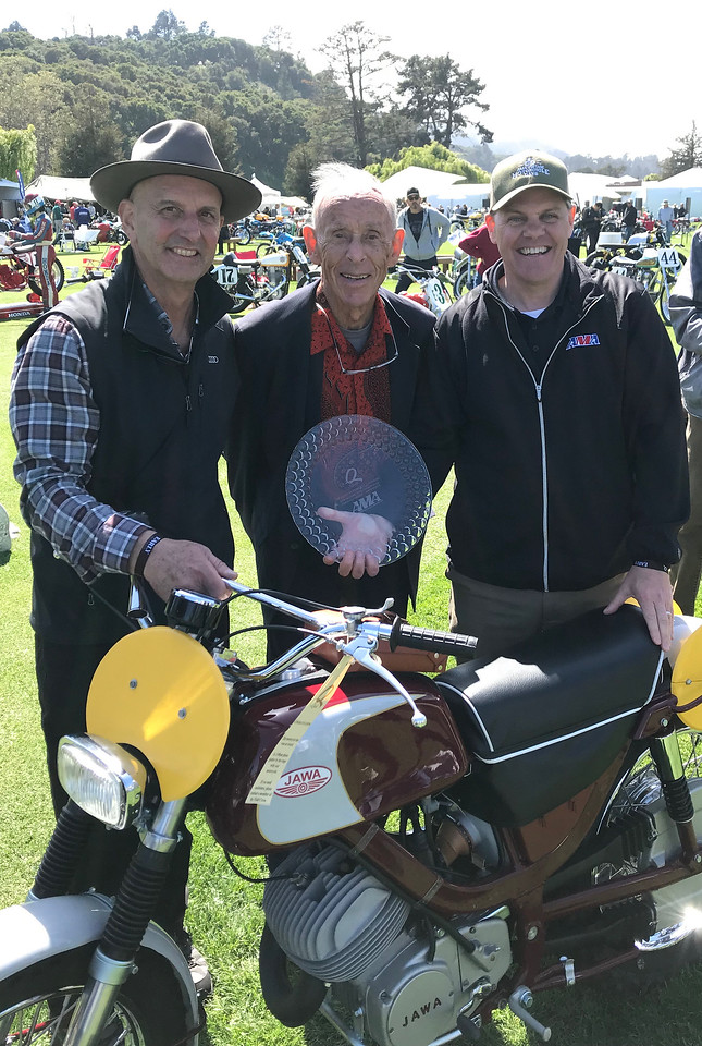 Chris Carter, Malcolm Smith and Rob Dingman