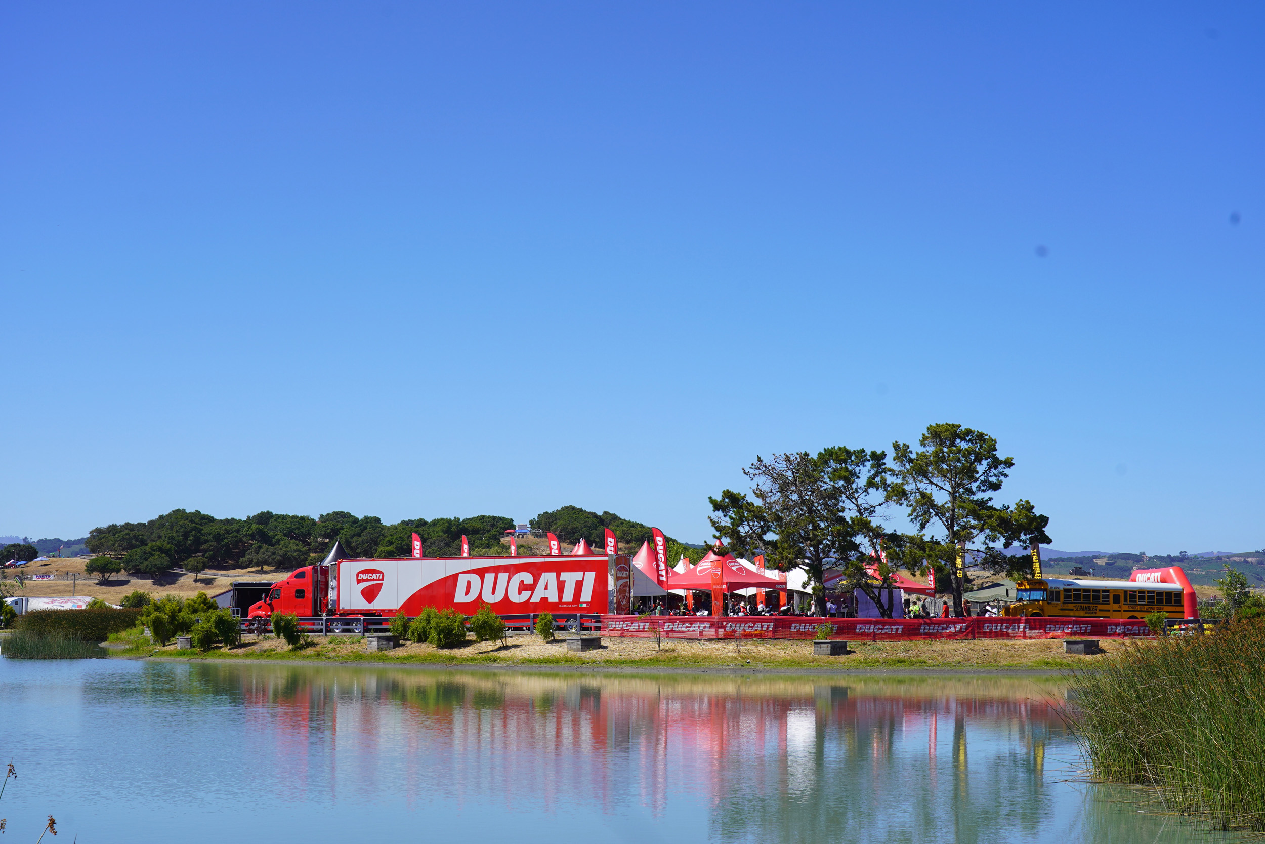 Ducati Island - WSBK Laguna Seca