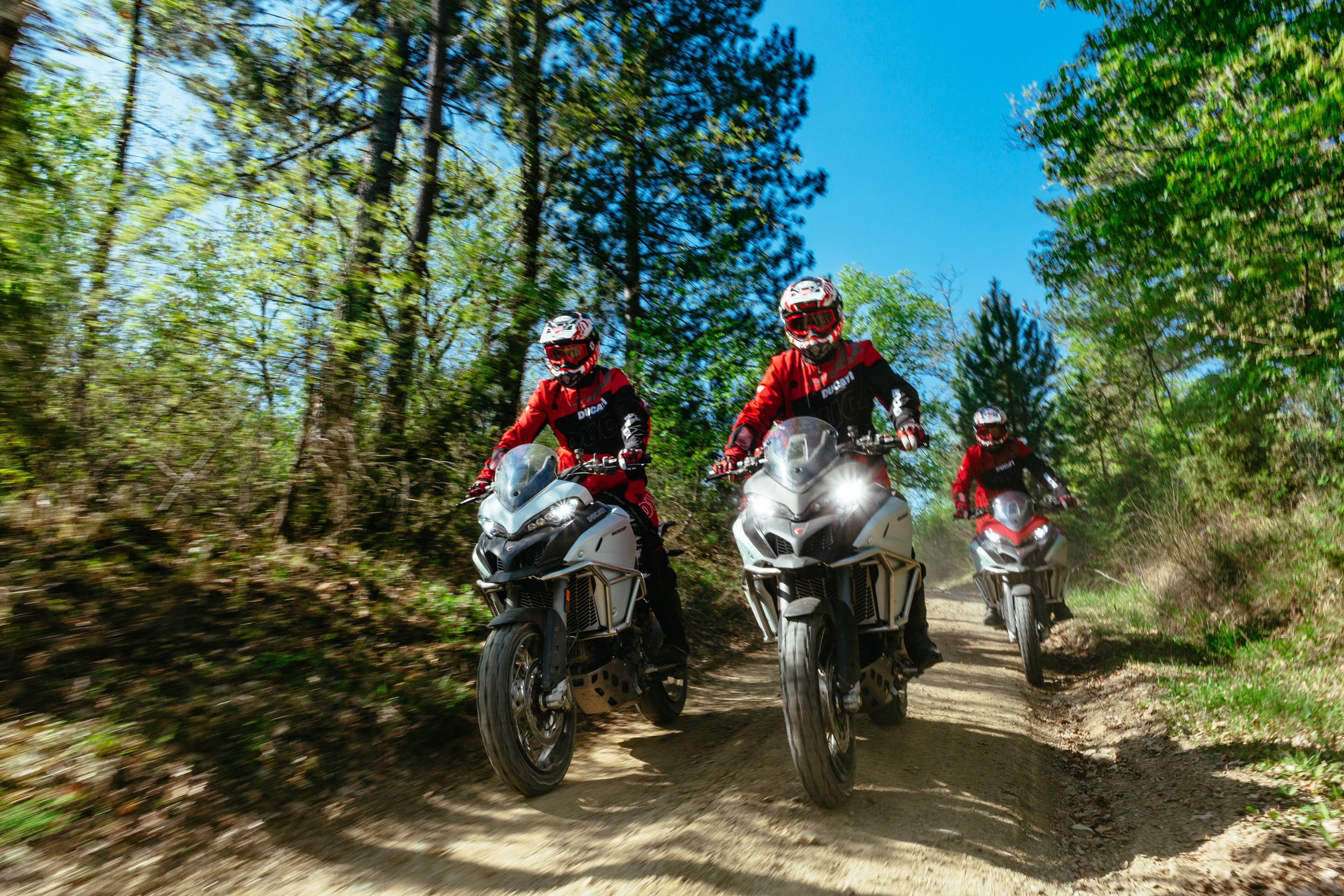 Ducati Riding Experience (DRE) Enduro Academy