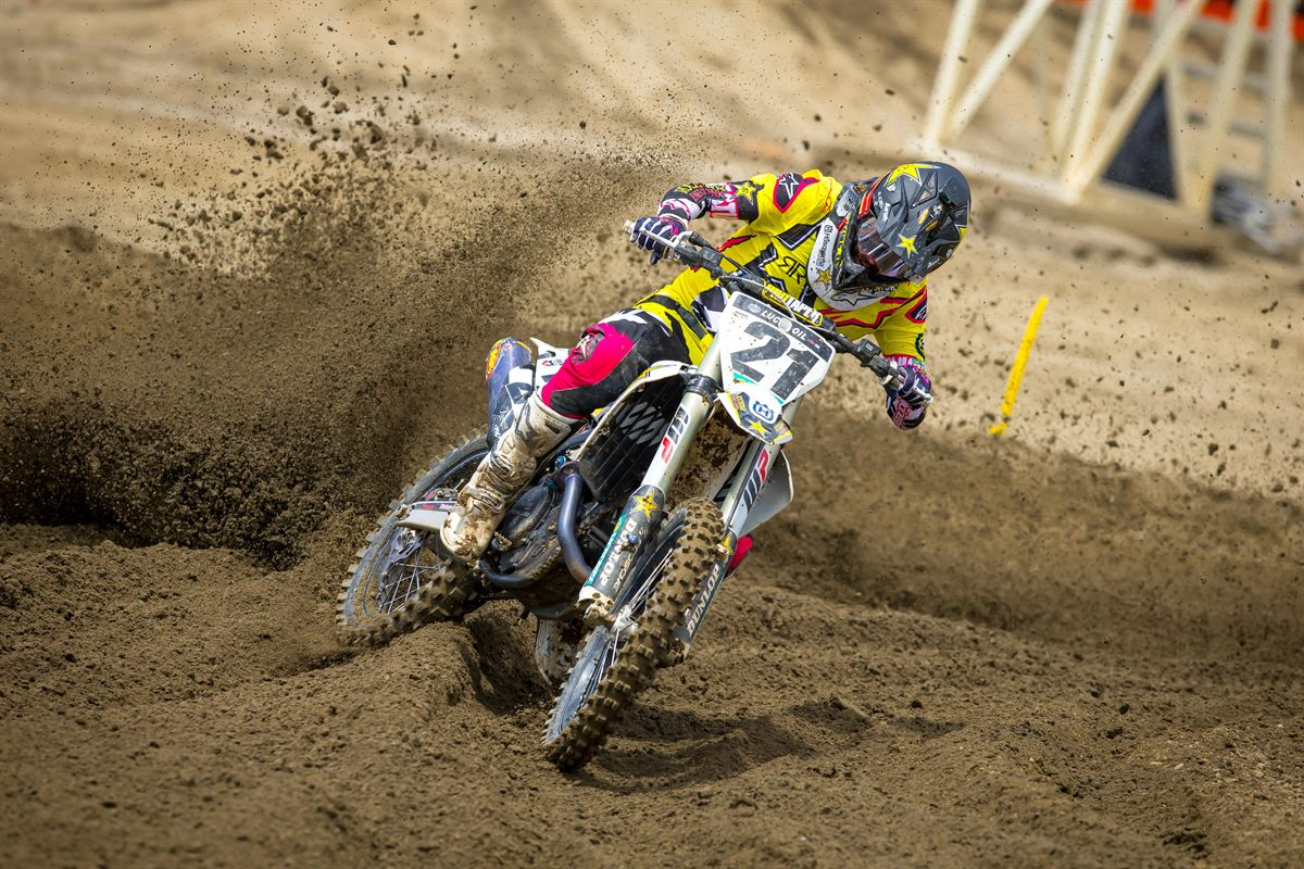 Fox Raceway - JASON ANDERSON - Rockstar Energy Husqvarna Factory Racing