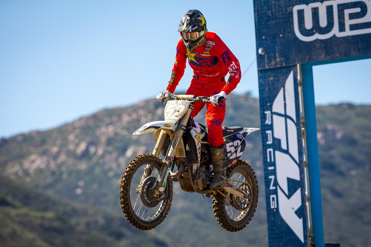 Fox Raceway - JORDAN BAILEY - Rockstar Energy Husqvarna Factory Racing