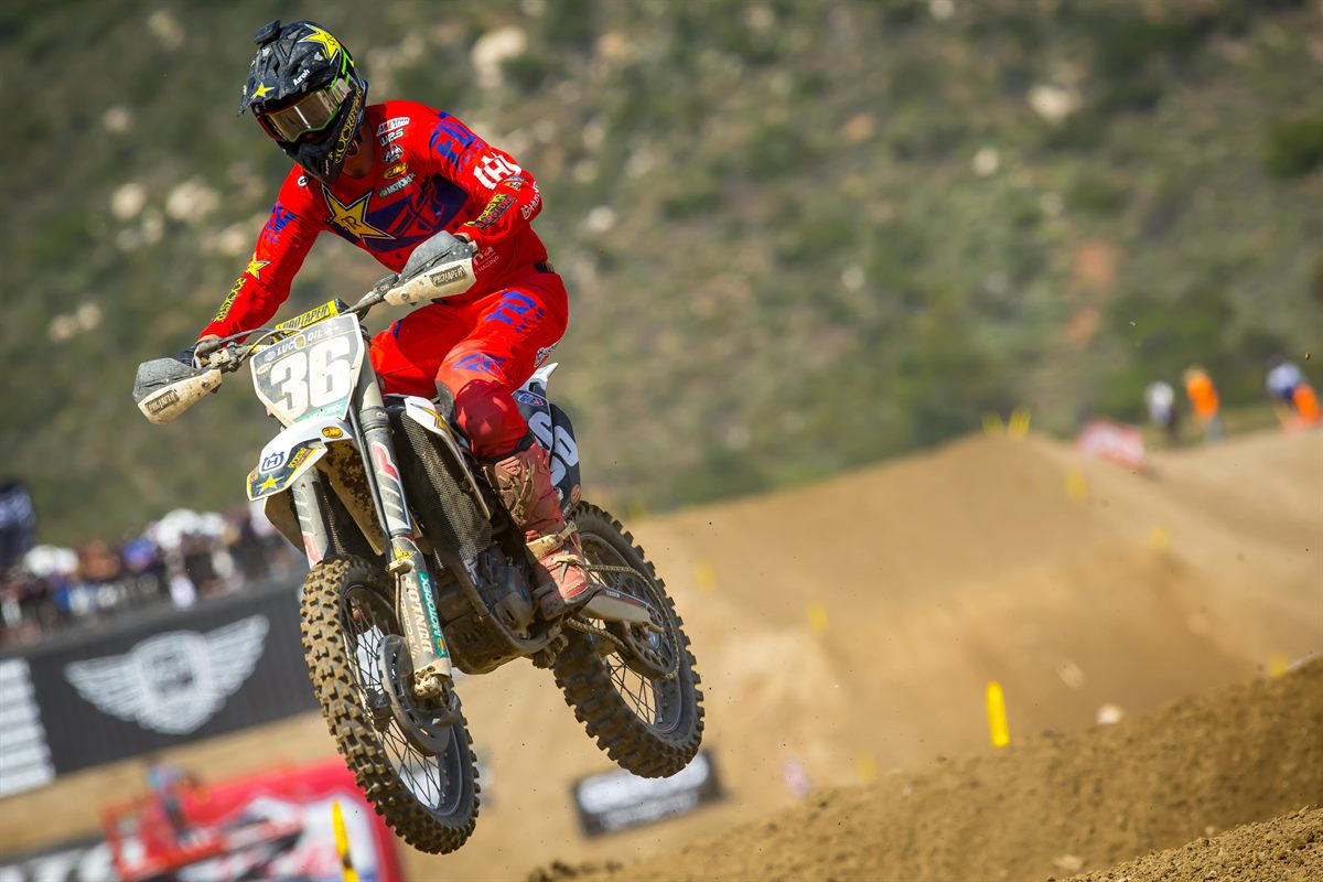 Fox Raceway - MICHAEL MOSIMAN - Rockstar Energy Husqvarna Factory Racing
