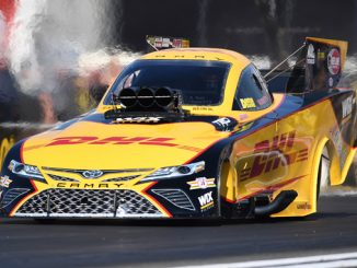 Funny Car - J.R. Todd - Route 66 NHRA Nationals - action