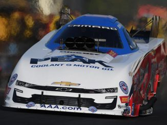 Funny Car - John Force - Virginia NHRA Nationals action