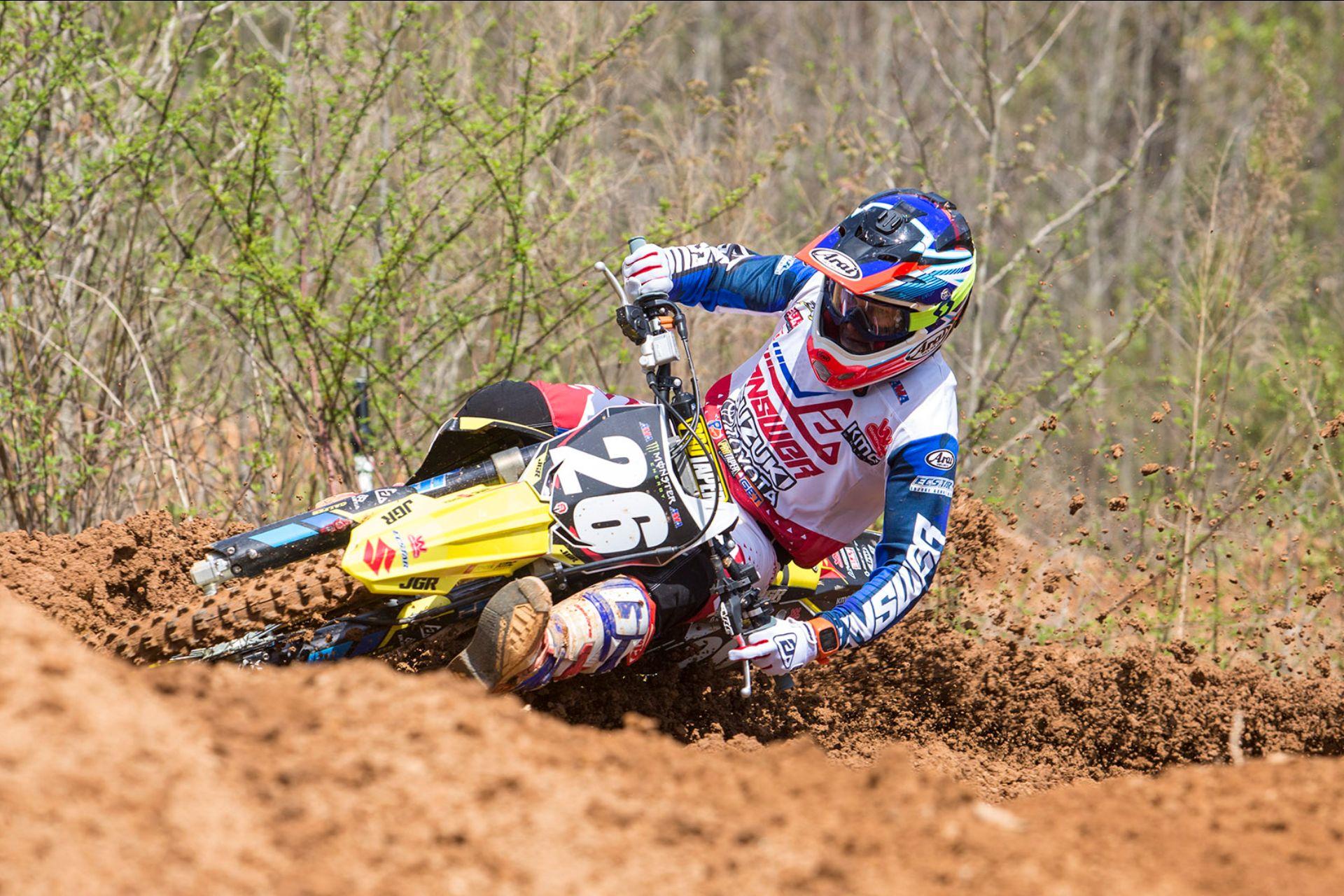 JGRMX/Yoshimura/Suzuki Factory Racing - Alex Martin #26