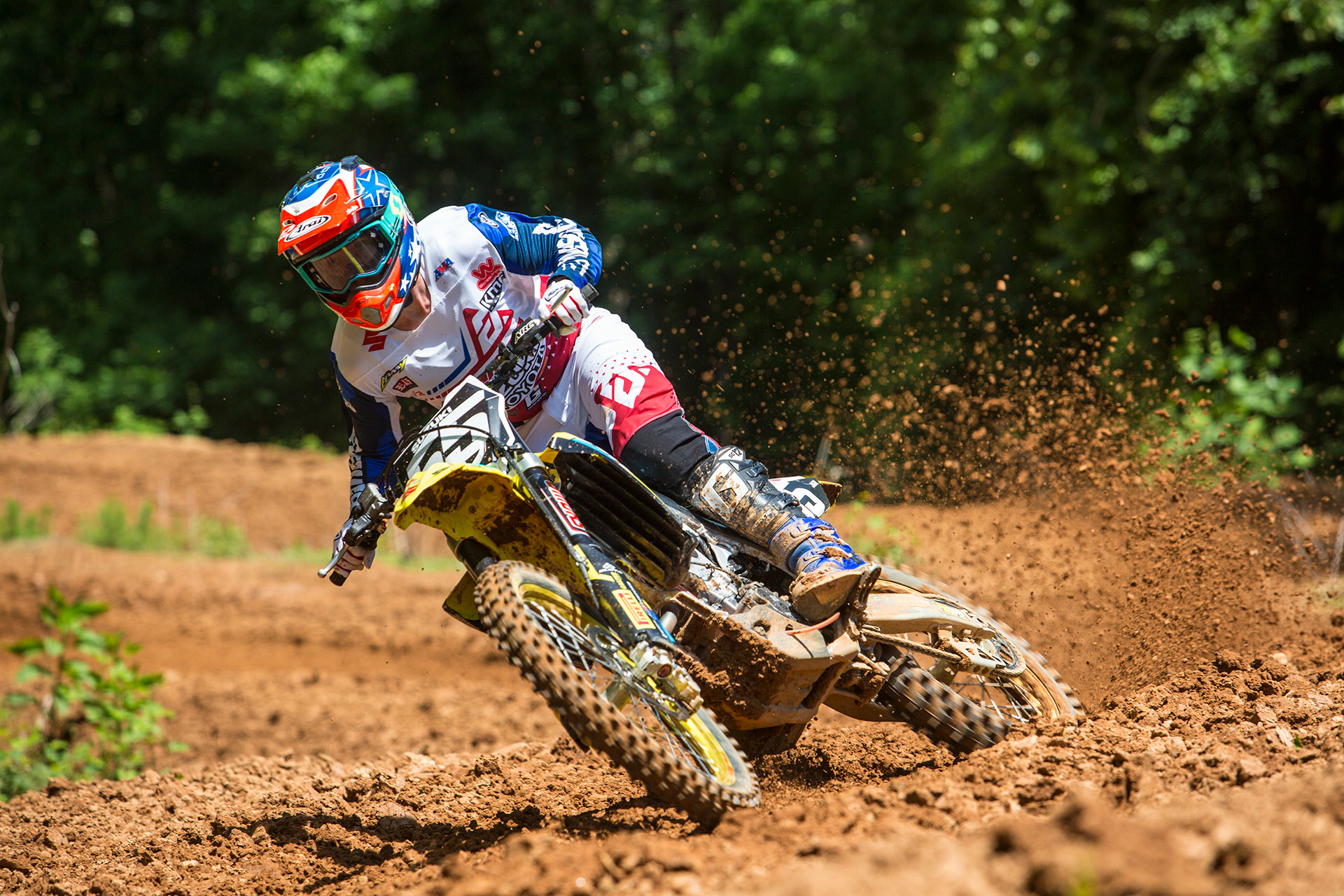 JGRMX/Yoshimura/Suzuki Factory Racing - Kyle Peters #55