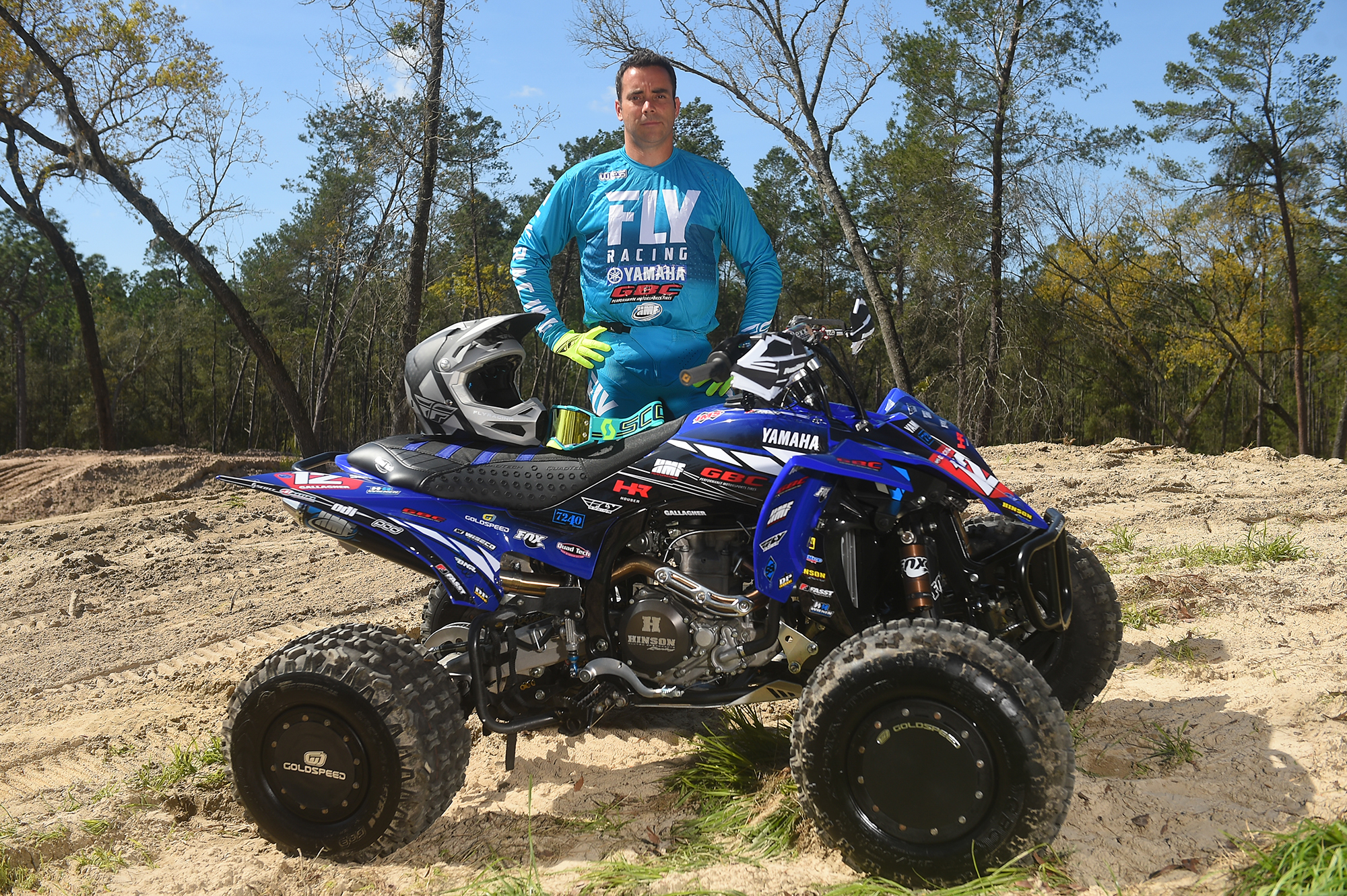 Celebrating 25 years of racing at a pro-level, XC1 Pro ATV rider Johnny Gallagher will lead this year's Yamaha Racing ATV instructors.