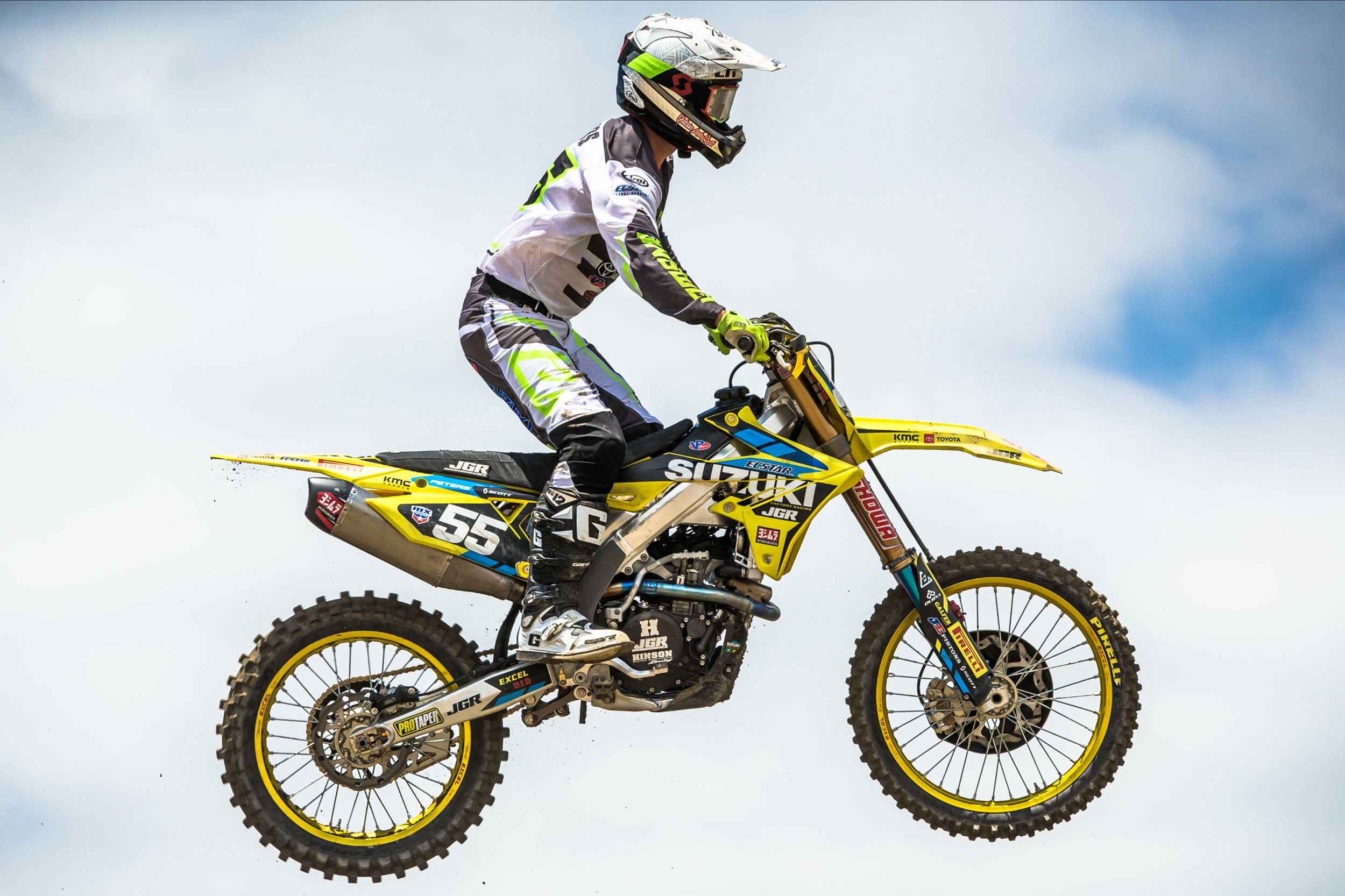 Kyle Peters (#55) looks to display his full potential at Thunder Valley