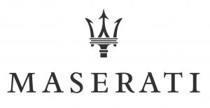 Maserati logo bk wh