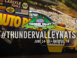NHRA Thunder Valley Nationals banner