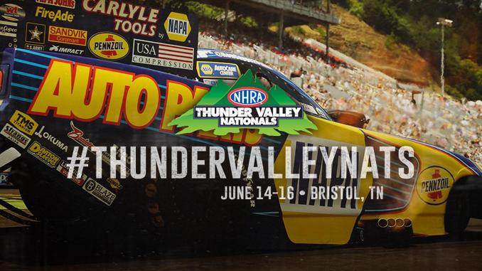 NHRA Thunder Valley Nationals banner