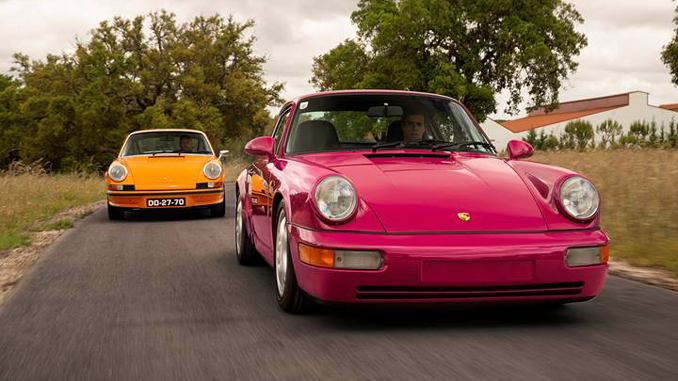 The 1973 Porsche 911 Carrera RS 2.7 Touring and 1992 Porsche 911 Carrera RS offered from the Sáragga Collection - Without Reserve in Portugal