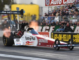 Top Fuel - Clay Millican - Route 66 NHRA Nationals action