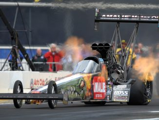 Top Fuel - Terry McMillen - Route 66 NHRA Nationals action