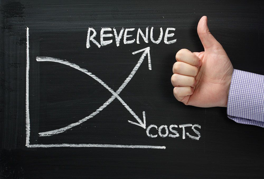 Bespoke - revenue up - costs down