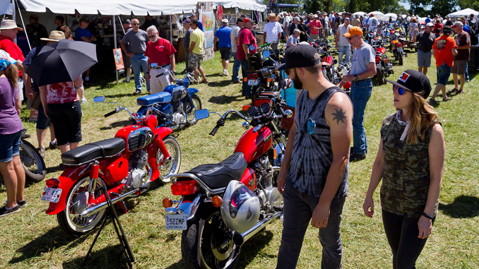 2018 AMA Vintage Motorcycle Days (Credit- Jeff Guciardo_AMA)