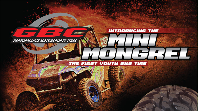 Kanati Mini Mongrel Youth SxS Tire
