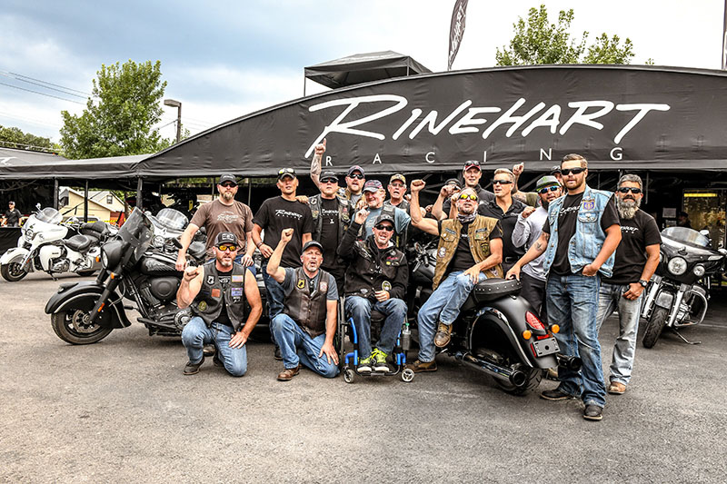 Rinehart Racing Returns as Sponsor of 2019 Veterans Charity Ride to Sturgis