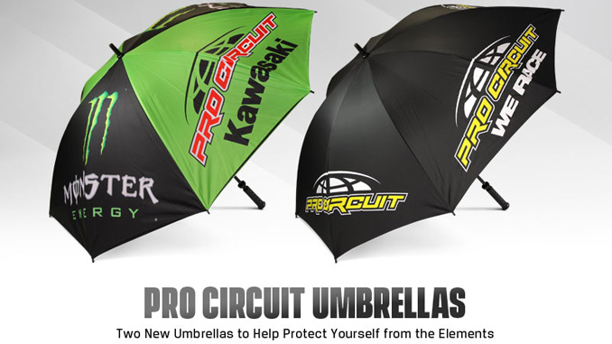Pro Circuit Umbrella