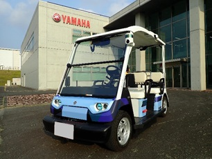 Yamaha Motor Begins Evaluation Trial of Low-Speed Autonomous Driving Vehicles