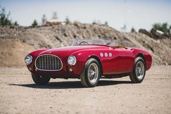 1952 Ferrari 225 Sport Spider - Monterey sale (image by Darin Schnabel © 2019 Courtesy of RM Sotheby's)
