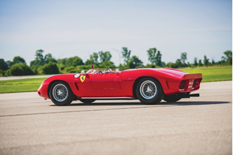 1962 Ferrari 196 SP - Monterey sale (image by Darin Schnabel © 2019 Courtesy of RM Sotheby's)