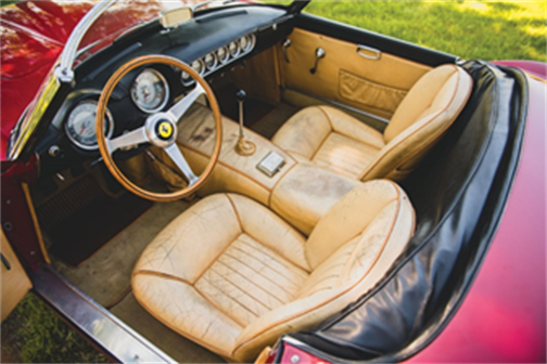1962 Ferrari 250 SWB California Spider - Monterey sale (image by Darin Schnabel © 2019 Courtesy of RM Sotheby's)