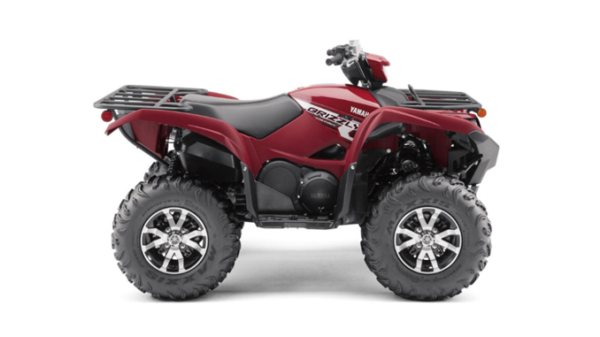 Yamaha Recall - Recalled Grizzly 700 ATV (Model YFM70G)
