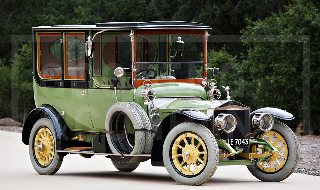 1911 Rolls-Royce 40:50 HP Silver Ghost Limousine
