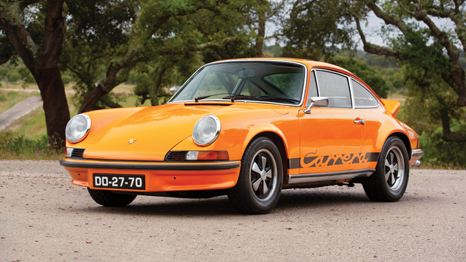 The Sáragga Collection - 1973 Porsche 911 Carrera RS 2.7 Touring (Credit- Tom Gidden ©2019 Courtesy of RM Sotheby's) [678]