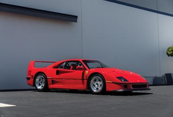 1991 Ferrari F40 (Karissa Hosek © 2019 Courtesy of RM Sotheby's)