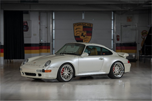 1997 Porsche 911 Turbo (Credit – Darin Schnabel © 2019 Courtesy of RM Sotheby's)