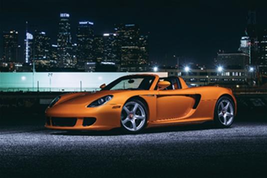 2005 Porsche Carrera GT (Mo Satarzadeh © 2019 Courtesy of RM Sotheby's)