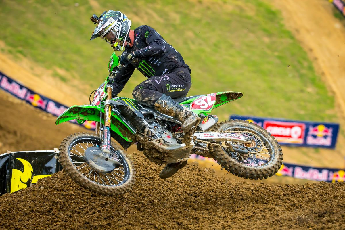Another second moto win carried Cianciarulo to his fourth straight overall victory - High Point National