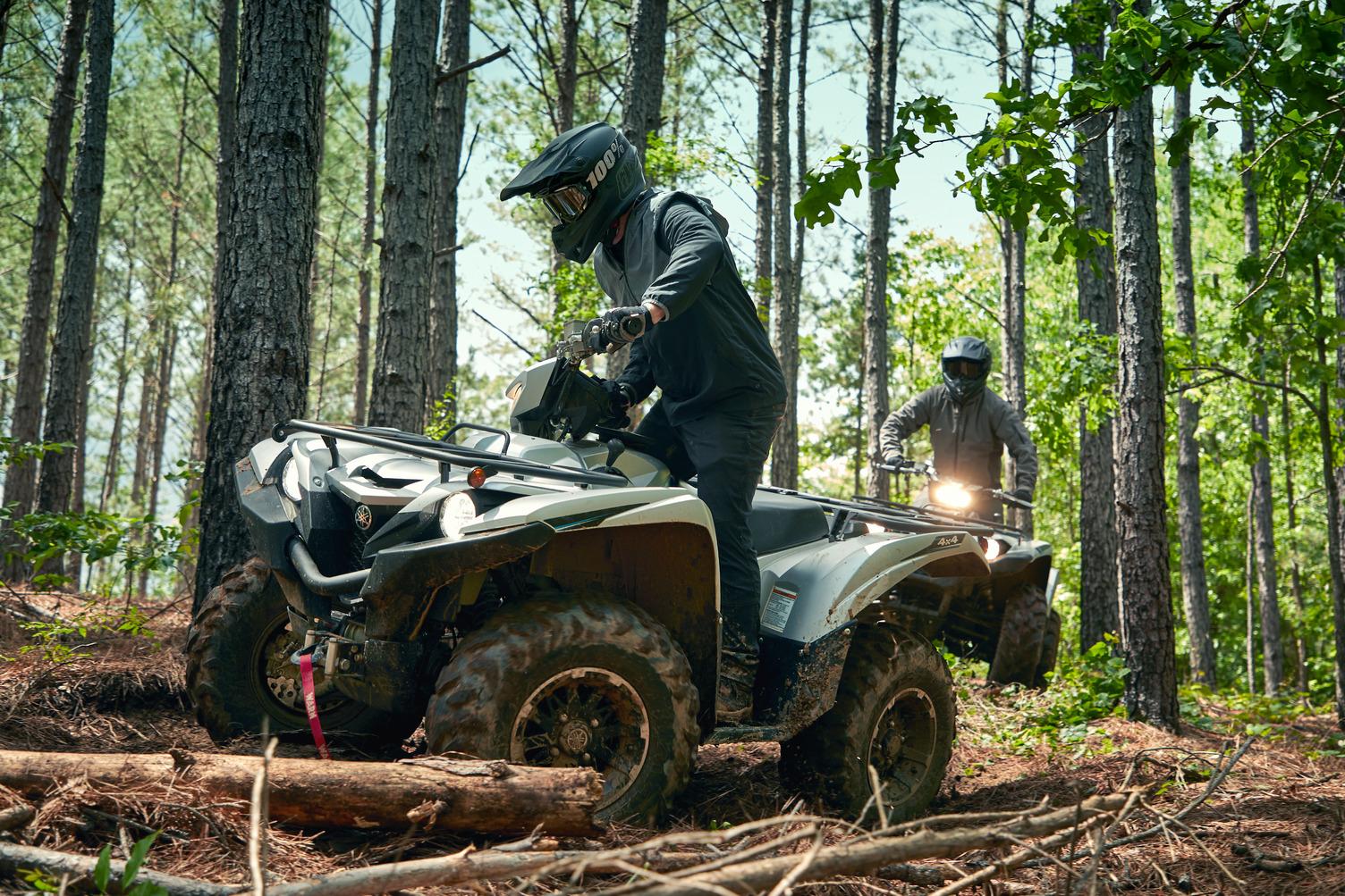 Big Bore ATV for Aggressive Trail Riding