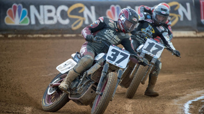 Bronson Bauman Earns First AFT Premier Class Victory In Laconia Short Track