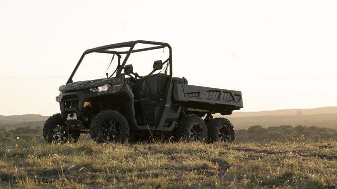 Can-Am Revolutionizes the On-the-job Experience with a Revamped Defender Lineup and All-New 6x6 Model