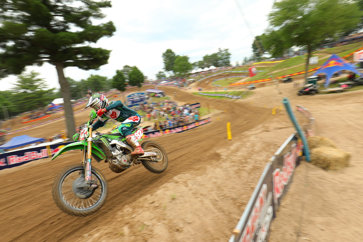 Cianciarulo raced to his fifth 250 Class win in six races - Southwick