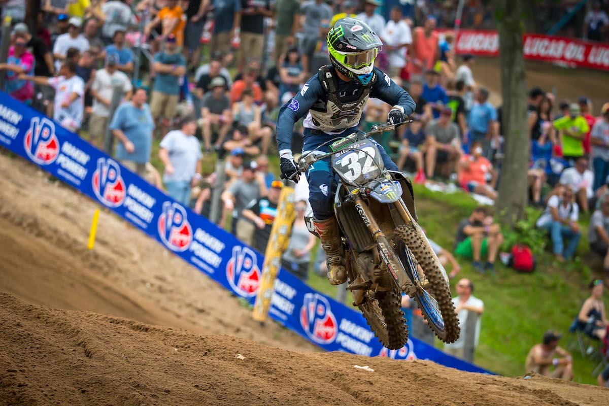Cooper followed up last week's win with a third-place finish - Southwick