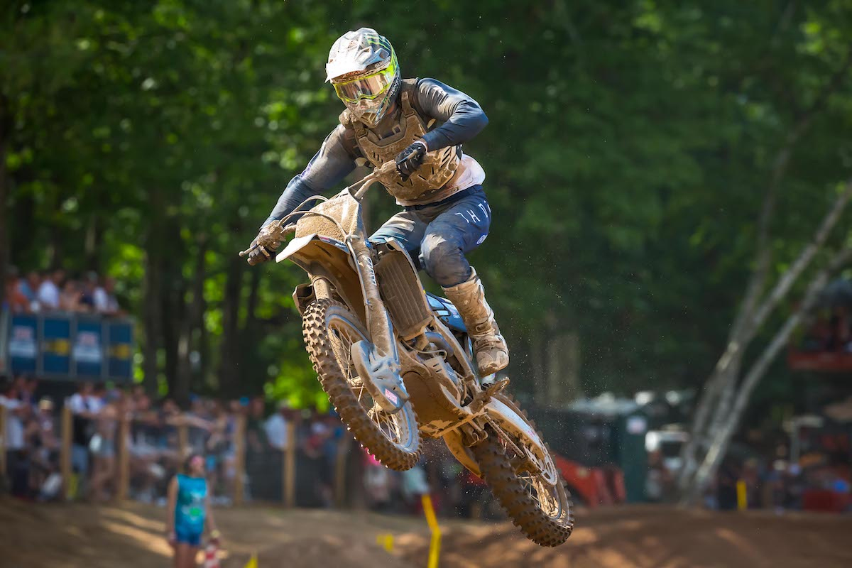Ferrandis earned his second straight runner-up finish - Southwick