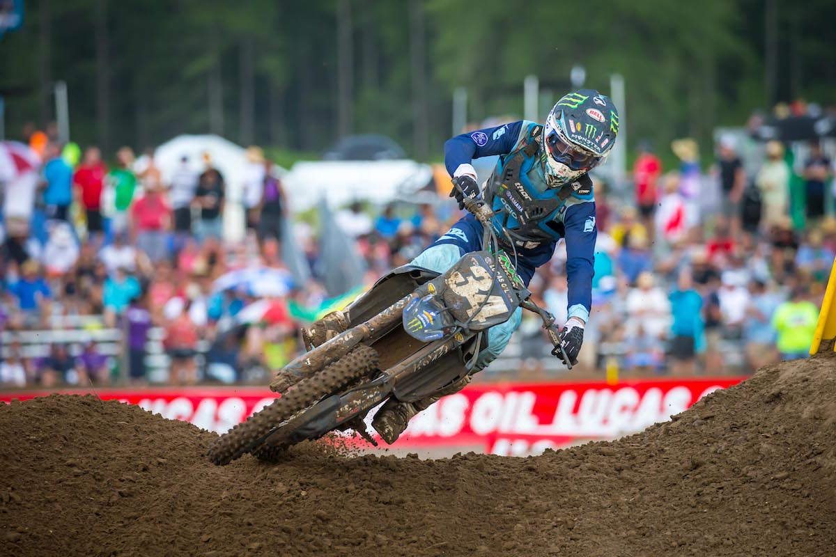 Ferrandis made it a 1-2 effort for the Star Yamaha squad - US Assure Florida National