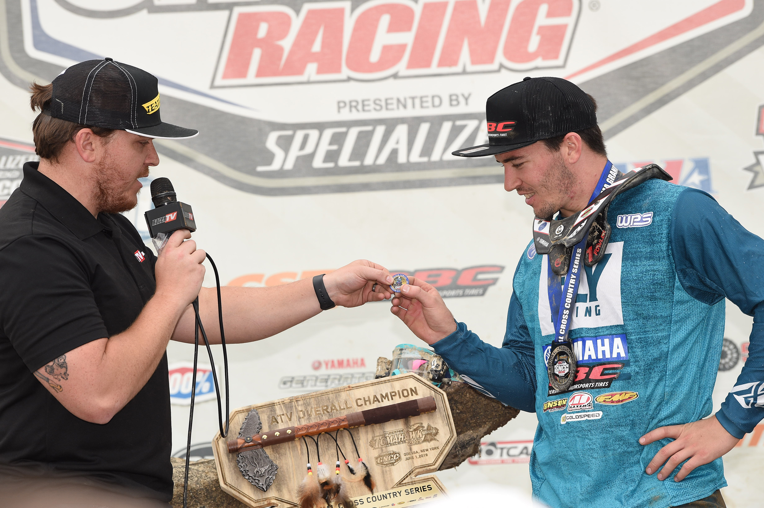 Fowler Makes Racing History on Podium-Proven YFZ450R