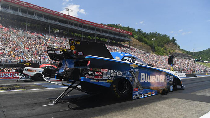 Funny Car - John Force - NHRA Thunder Valley Nationals