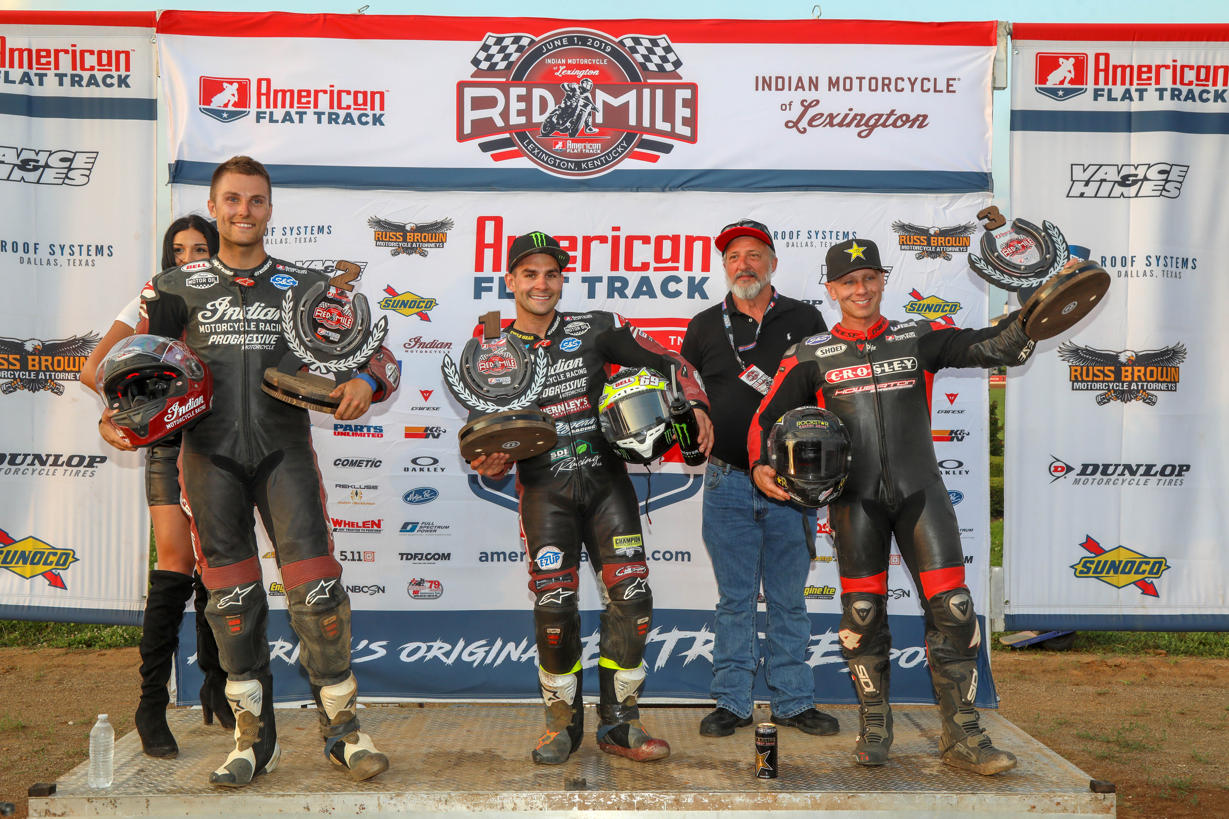 Indian Wrecking Crew Takes 1-2 at Indian Motorcycle of Lexington Red Mile
