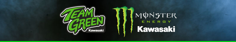 Kawasaki Team Green - Monster Energy Kawasaki banner