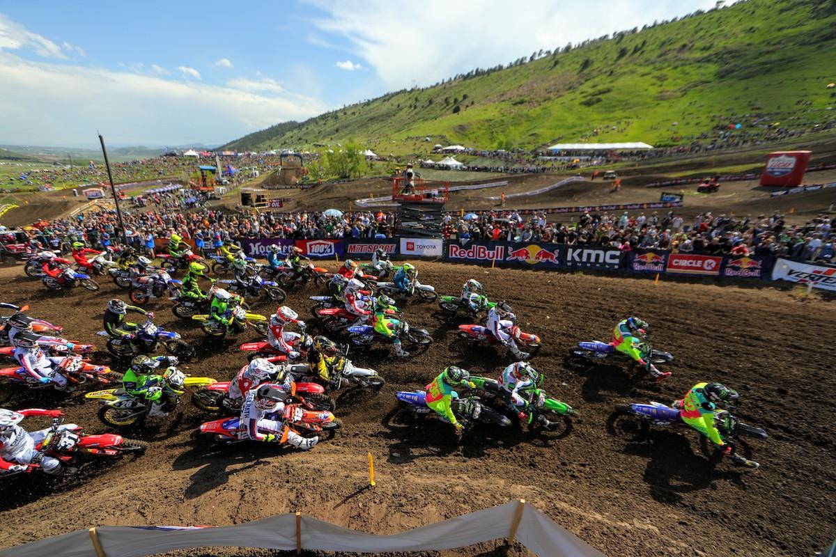 Lucas Oil Pro Motocross Championship back to Thunder Valley. Photo- Jeff Kardas