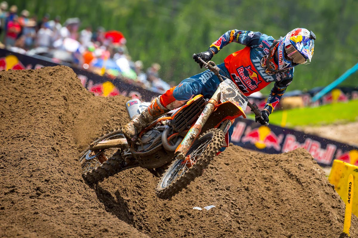 Musquin took home his first win of the 2019 season - US Assure Florida National