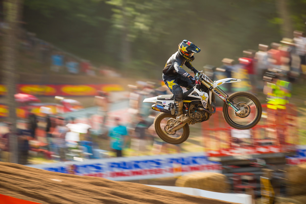 Osborne enjoyed a career-best outing highlighted by his first moto win - Southwick