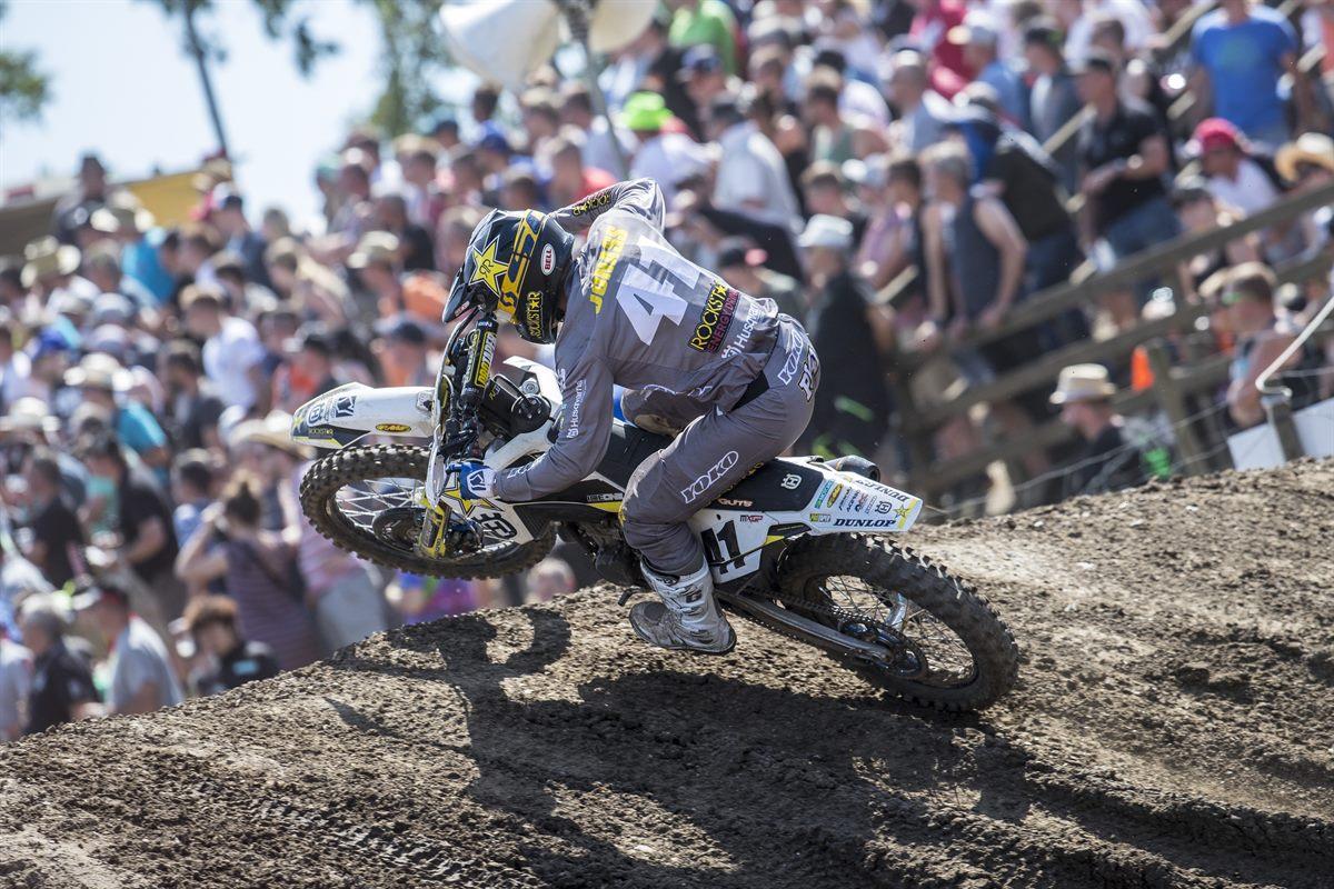 Pauls Jonass – Rockstar Energy Husqvarna Factory Racing - MXGP of Germany