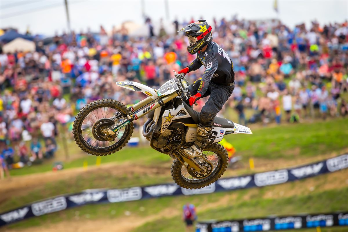 Rockstar Energy Husqvarna Factory Racing - Zach Osborne - High Point National